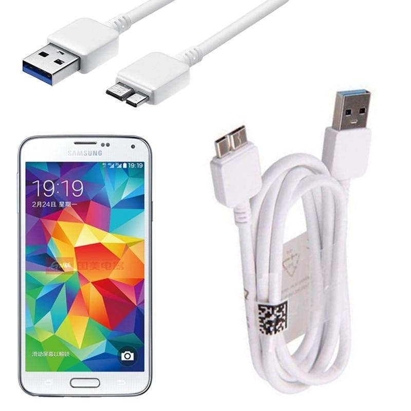1M Micro USB 3,0 Cable de datos para Samsung Galaxy S5 I9600...