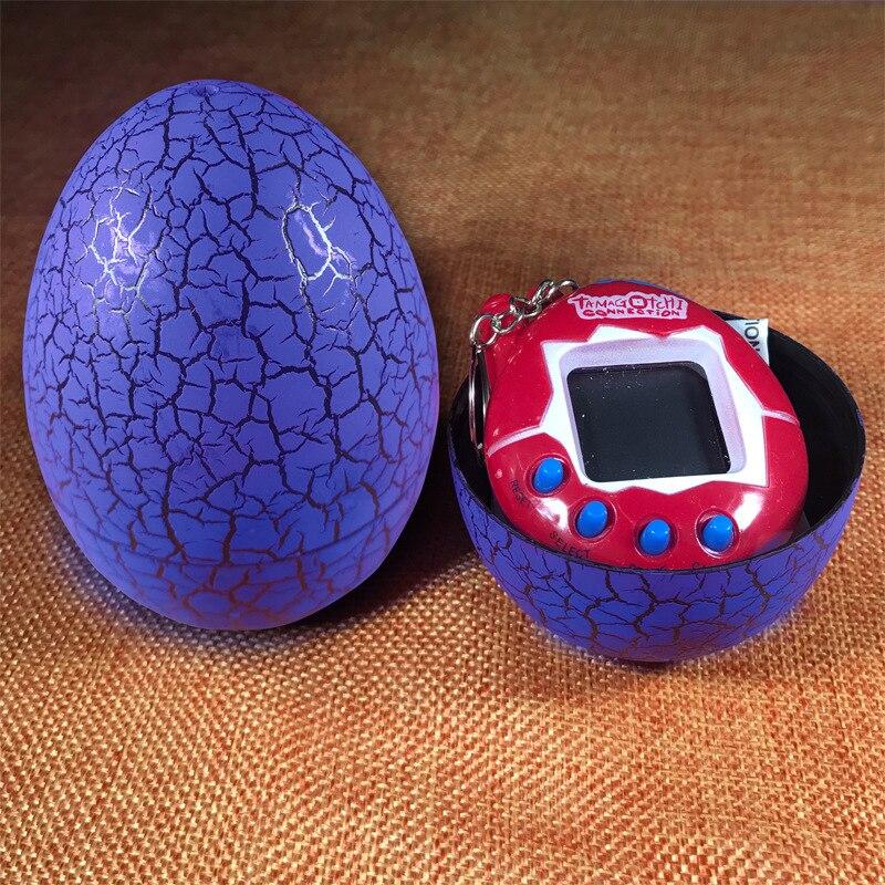 Hot Sale Virtual Cyber Digital Pet Game Toy Multi-Color Dinosaur egg Tamagotchis Digital Electronic E-Pet Christmas Gift#257817