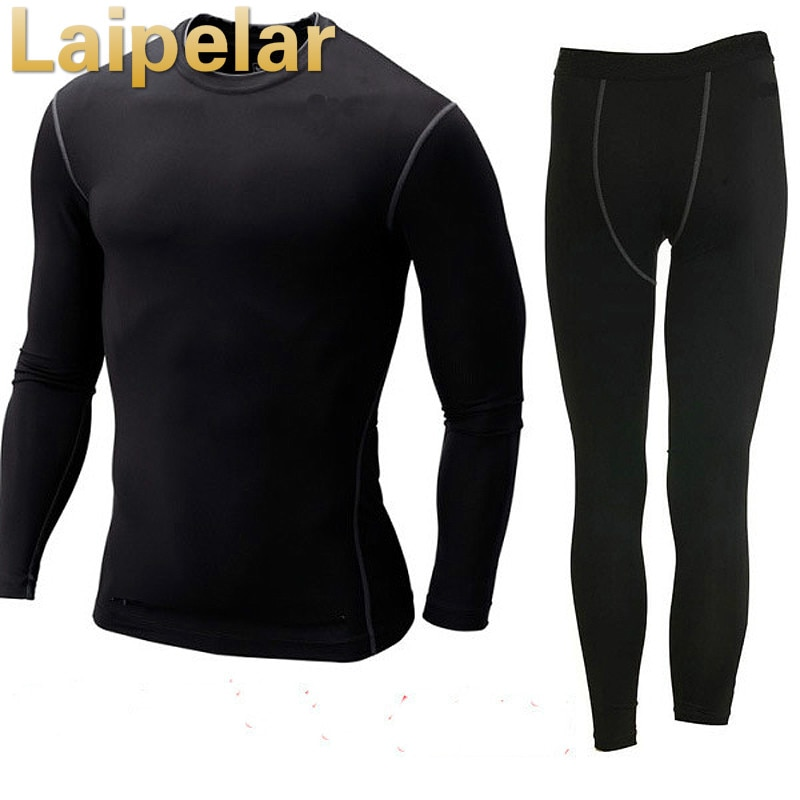 Laipelar Men And Women Thermal Underwear Set Hot-Dry Technology Surface Warm Elastic Force Clothes