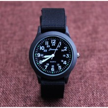 New Arrival Fashion Unisex Nylon Fabric Kids Children Watch Sport Thin Students Canvas Quartz Dress