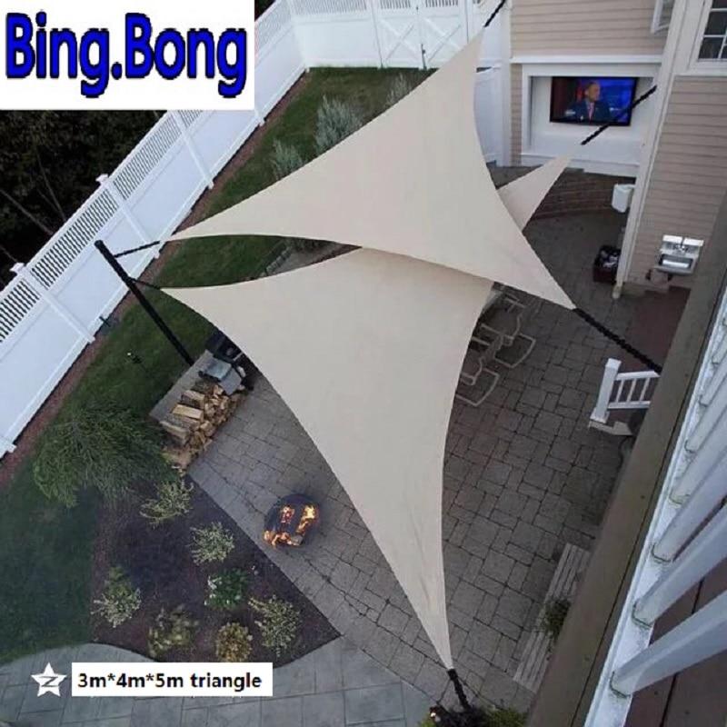 USA Außen sonnensonnensegel garten netting 3*4*5 mt HDPE Anti-Uv sonnencreme beschattung netze markise pavillon baldachin auto abdeckung zelte