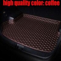 Special custom made car Trunk mats for Infiniti FX35/45/50 G35/37 JX35 Q70L QX80/56 all weather carpet floor liner