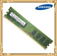 Samsung Desktop memory 2GB 800MHz PC2-6400U DDR2 PC RAM 800 6400 2G 240-pin Free shipping