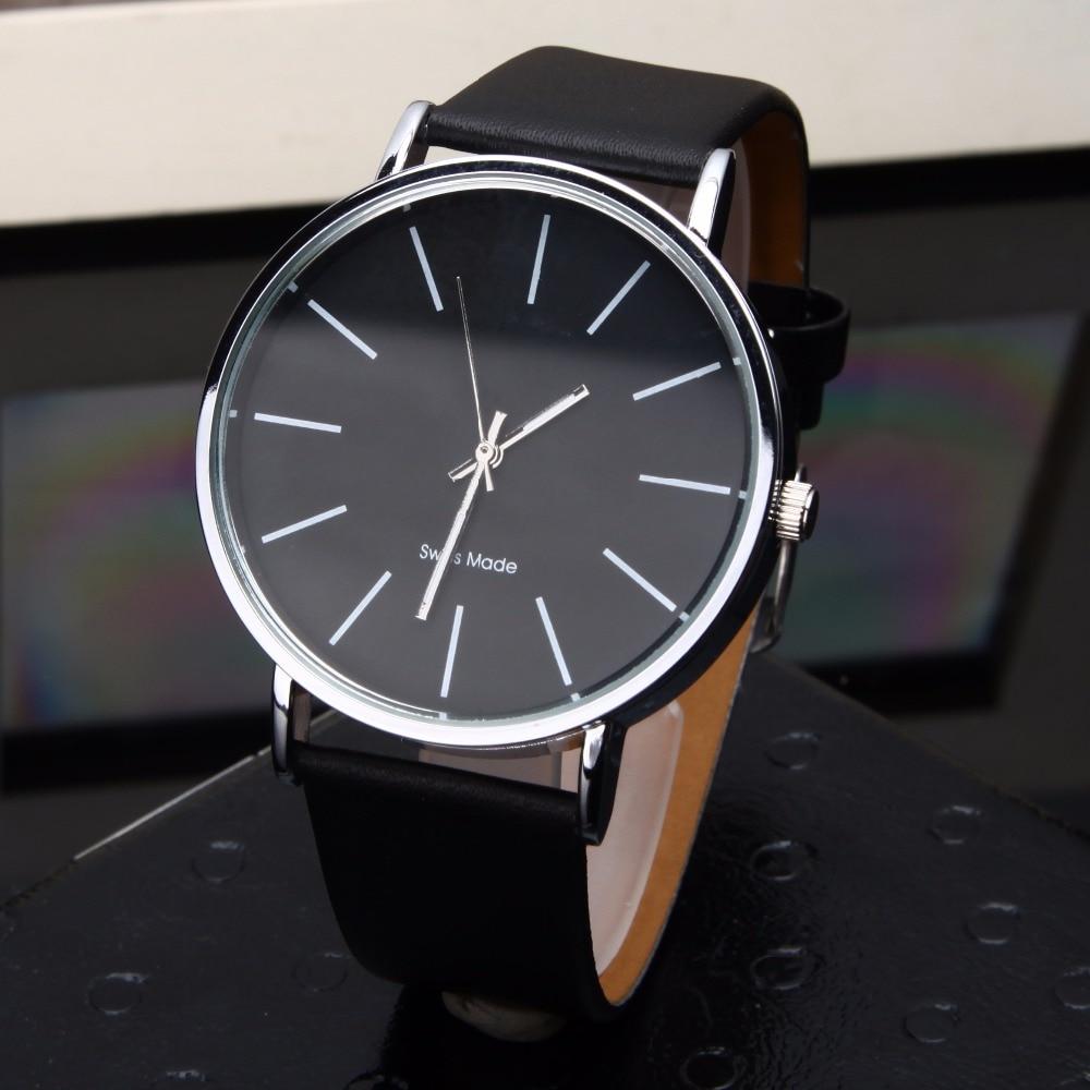 Relogio Masculino Quartz Watch Men Leather Casual Watches Men's Clock Male Sports Wristwatch montre homme hodinky ceasuri saat