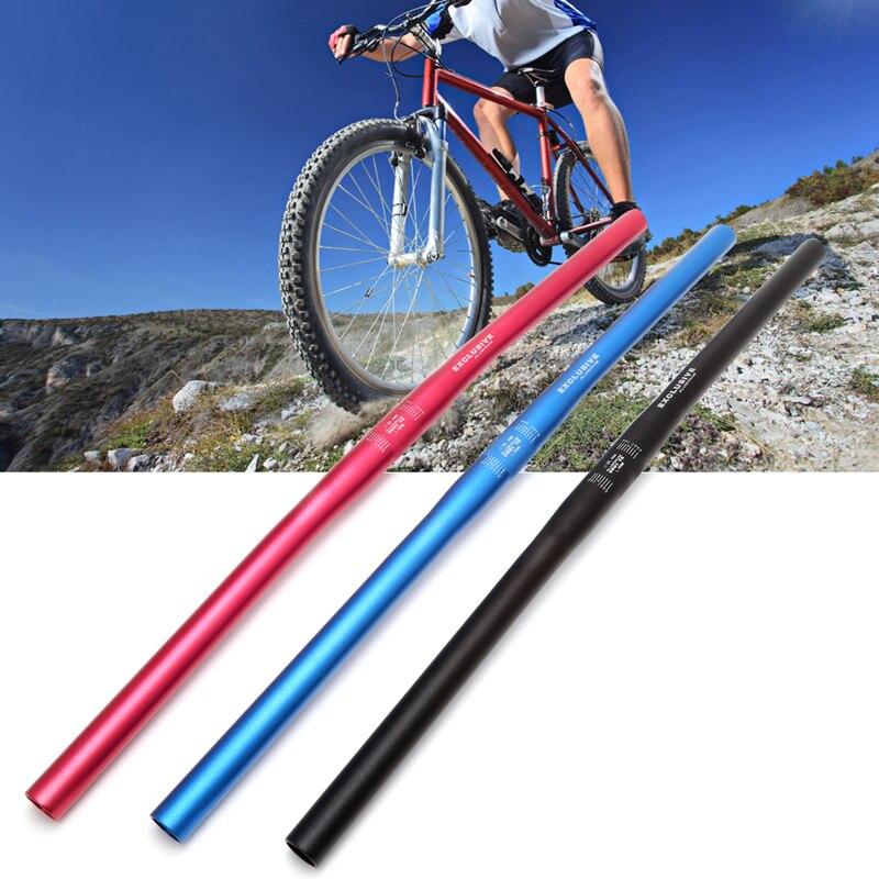 Manillar de bicicleta de montaña, barra elevadora recta de 25,4mm 60cm, manillar de aleación de aluminio de alta calidad