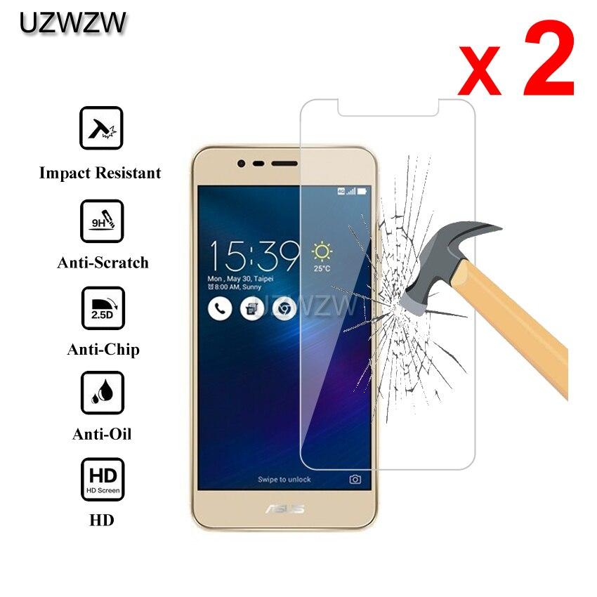 2pcs For Asus Zenfone 3 Max ZC520TL Premium 2.5D Tempered Glass Screen Protector For Asus Zenfone 3 Max ZC520TL Protective Glass