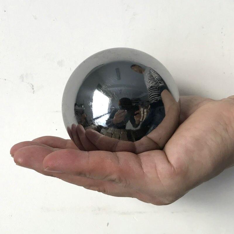 Bola de acero sólido baoding, bolas de acero para fitness, pelota de mano sensorial de mediana edad, herramienta de mensaje de medicina, 1 ud.