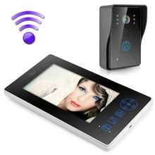 MAOTEWANG-porte-téléphone interphone   Sonnette de sécurité, 7 pouces TFT, caméra vidéo sans fil, moniteur de sécurité domestique, 2.4G