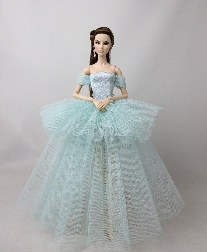 Especial Nueva funda original y genuino para Ropa de muñeca barbie, vestido, ropa a la moda, vestido de princesa al azar