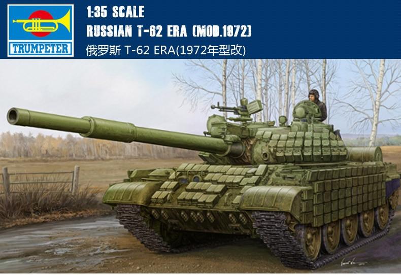 trompete 01556 135 tanque visual russo mudanca de modelo de 1972 modelo de montagem