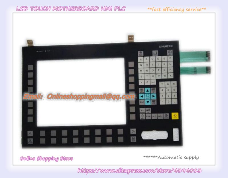 Nueva lámina de teclado máscara para OP012 6FC5203-0AF02-0AA1 6FC5203-0AF02-0AA0