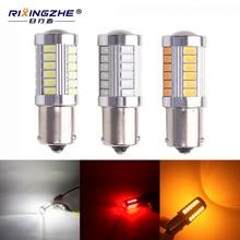 2pcs 1156 py21w led BA15S BAU15S amber 5630 33SMD Car Turn Signal Lights Brake Lights auto Reverse Lamp Daytime Running Light