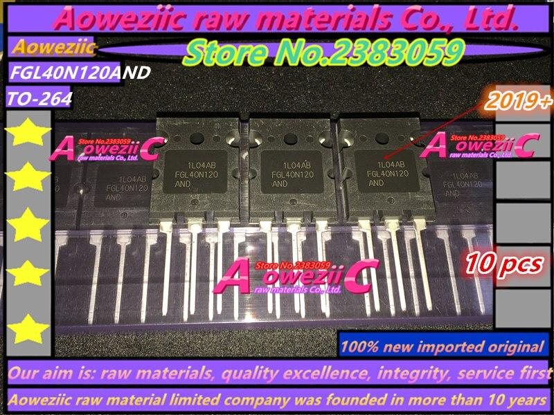 Aoweziic 2019 + 100% новый импортный оригинал FGL40N120AND FGL40N120 TO-264 triode IGBT трубка 40A 1200V