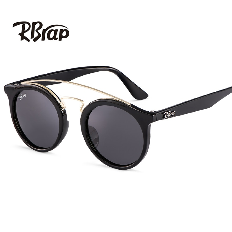 Gafas de sol modernas para mujer, monturas de gafas redondas pequeñas vintage de diseñador, gafas polarizadas de moda, oculos de grau feminino4456
