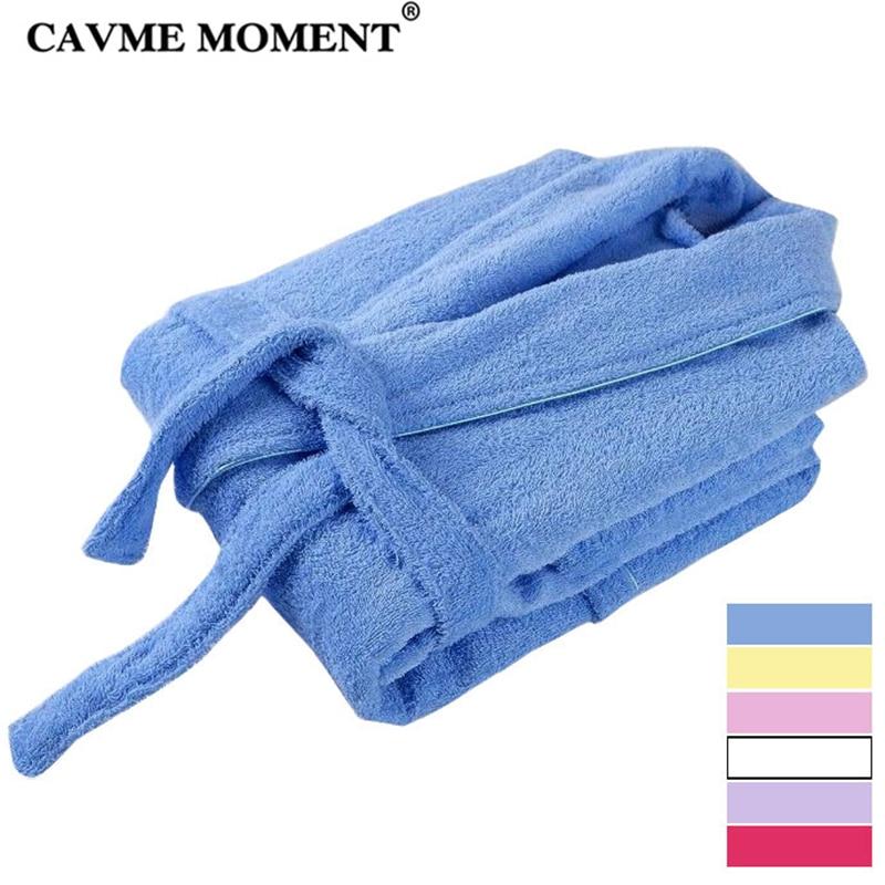CAVME LOGO CUSTO Bride Terry Bathrobe Bridesmaid Hotel Robes Kimono Women Long Towel Lounge Full Sleeve Night Dressing