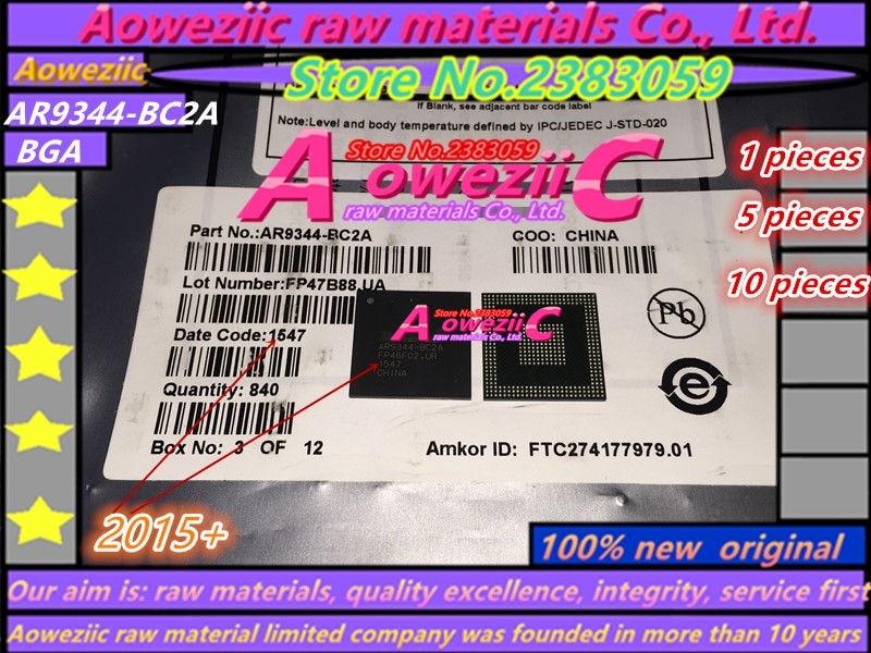 Aoweziic 100% new original  AR9344   AR9344-BC2A  AR9344-DC3A  AR9344-CC3A  BGA409  Wireless WIFI router chip