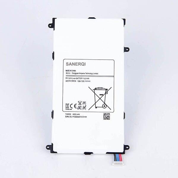 """Novo Para Samsung Galaxy Tab Tablet Pro 8.4 polegada 8.4 """"T320 SM-T320 SM-T321 T321 T325 4800 mAh T4800E Substituição bateria"""