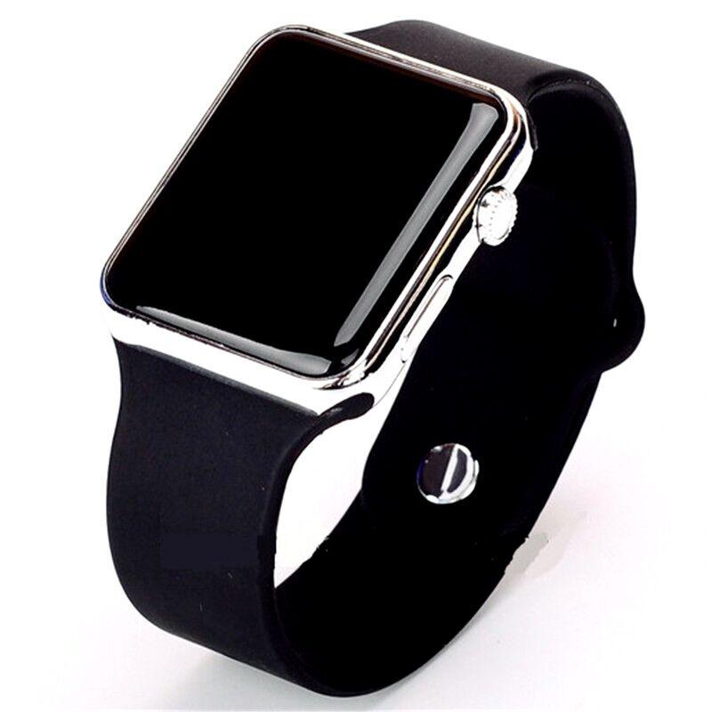 Спортивные часы Ceasuri для мужчин и женщин, светодиодные силиконовые часы, цифровые детские спортивные наручные часы, часы для женщин, 2019