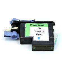 YOTAT 1 piezas cian impresión cabeza para HP80 80 HP Designjet 1000 1050c 1055 cm C4821A para HP80 cabezal de impresión