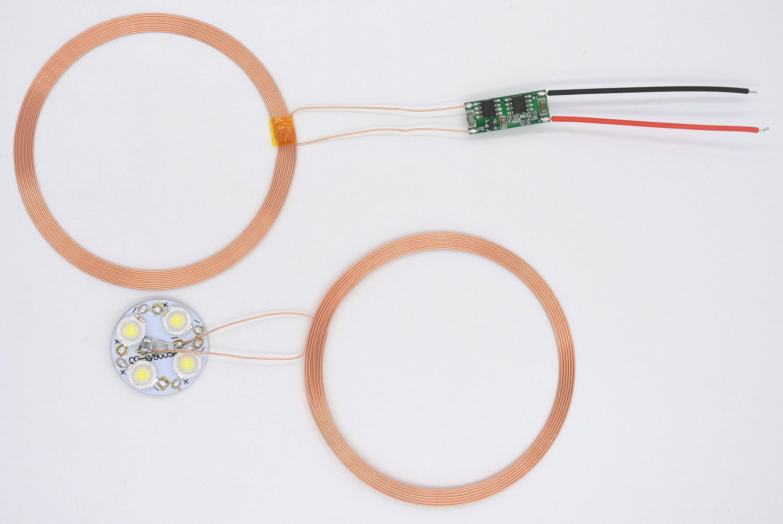 15V Wide Voltage Magnetic Levitation Wireless Power Supply Module Wireless Charging Module Module XKT515-12