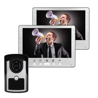 7 Inch Water-Proof IP55 1V2 IR Night Vision Video Door Phone