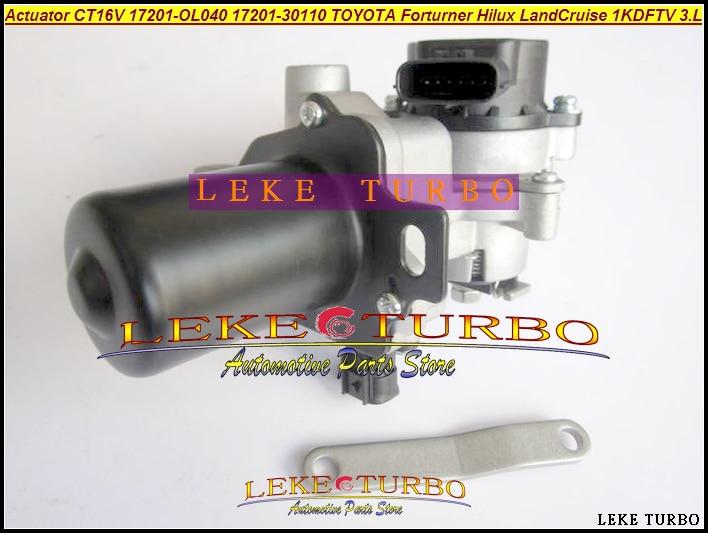 Turbo Atuador Elétrico Solenóide CT16V 17201-OL040 172010L040 17201-0L040 1720130110 Para TOYOTA Landcruiser Hilux 1KD-FTV 3.0L