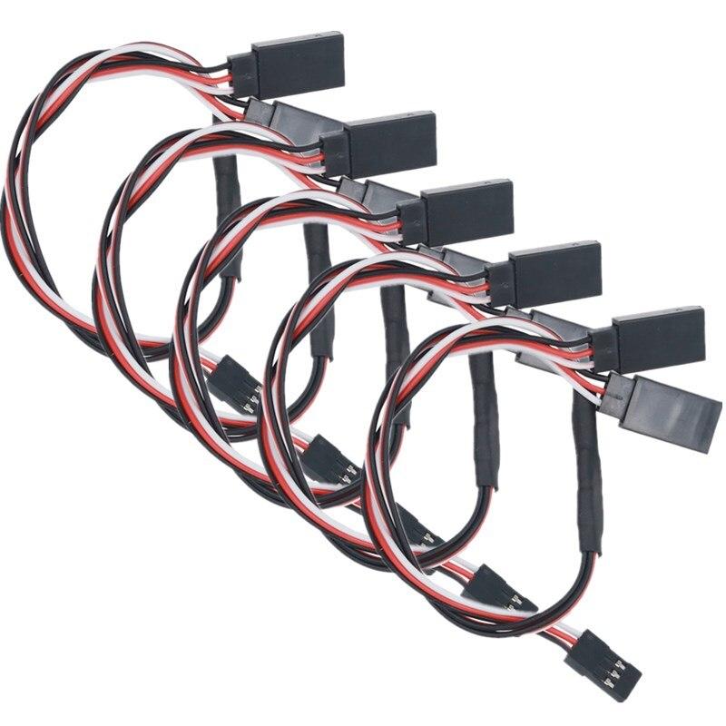 5 шт. 150/300 мм Y удлинитель Кабель провод RC сервопривод для RC модели игрушки скидка 20%
