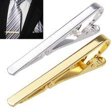 Mężczyźni Metal srebrny złoty prosty krawat Spinka do krawata zapięcie zacisk Pin mężczyzn ze stali nierdzewnej dla Ma krawat krawat klamrami