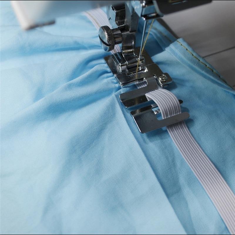 Piezas de máquina de coser para el hogar prensatelas laminadas Hem Feet 6290-4 para Brother cantante Janome Pfaff vikingo accesorios de costura