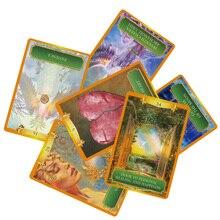 2019 mystérieux pouvoir oracle cartes deck 53 cartes, cartes tarot anglais guidage-divination fortune pour les femmes jeu de société