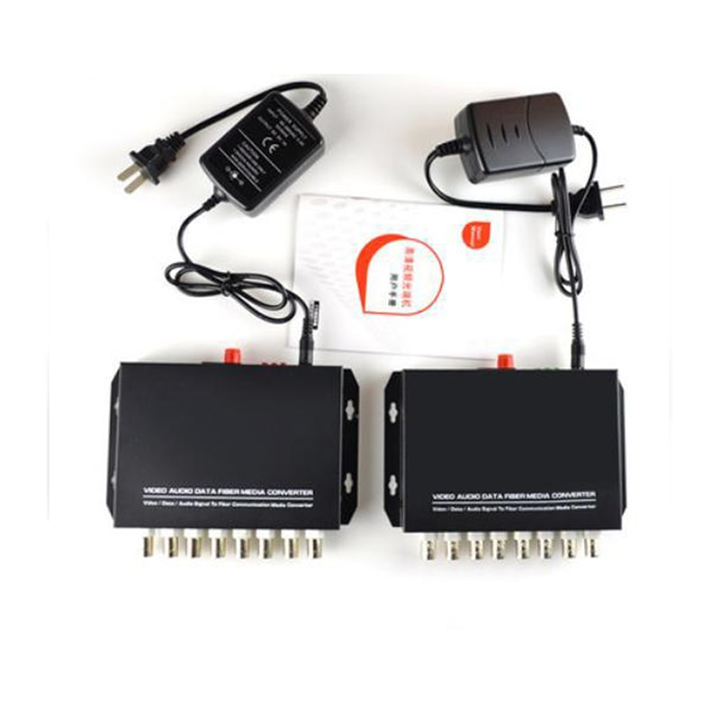 The new 8CH Video 8CH optical pure video  digital Video Optical converter fiber optic video optical transmitter enlarge