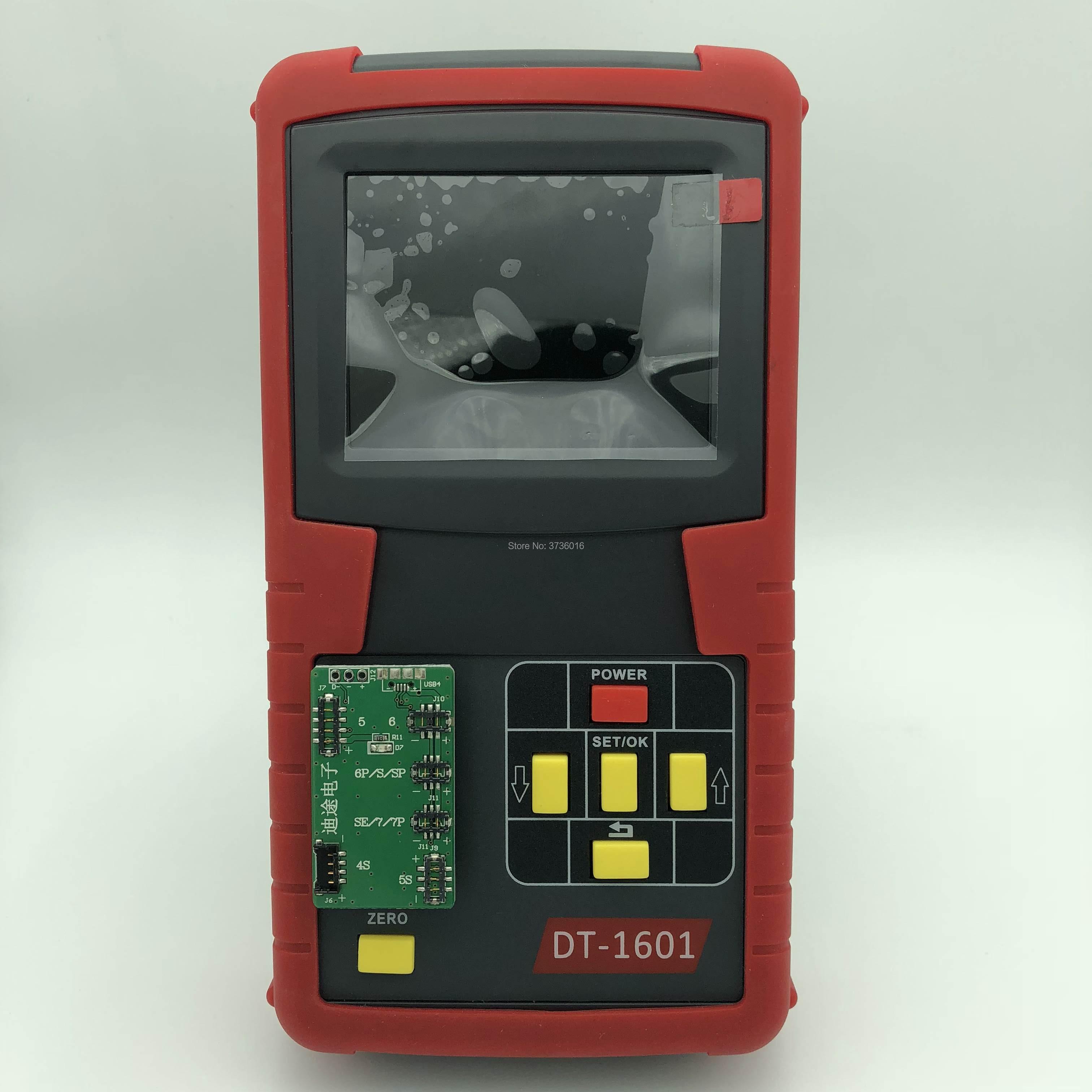 DT-1601 analisador digital do teste da bateria do telefone móvel para 4 a x detecção da propriedade da bateria e restauração da bateria clara