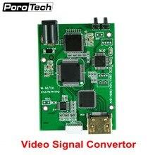 Factory Direct AHD41 4-in-1 HD Video Signal Convertor Board AHD TVI CVI CVBS signal to HDMI VGA CVBS signal convertor board
