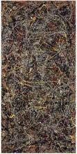 Reproduction de peinture à lhuile faite à la main   Toile en lin No.5 , Jackson Pollock, 100% faite à la main, qualité du musée, 100%