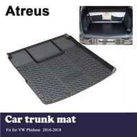 atreus car trunk cargo floor liner tray mat cover protection blanket for volkswagen vw phideon 2016 2017 2018 accessories