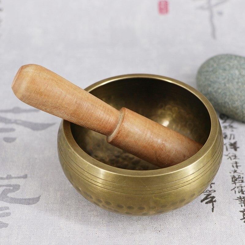 Тибетские буддийские чаши оптом чаши непальской ручной работы чаши «Будда» медитация медный колокольчик металл ремесло скульптура