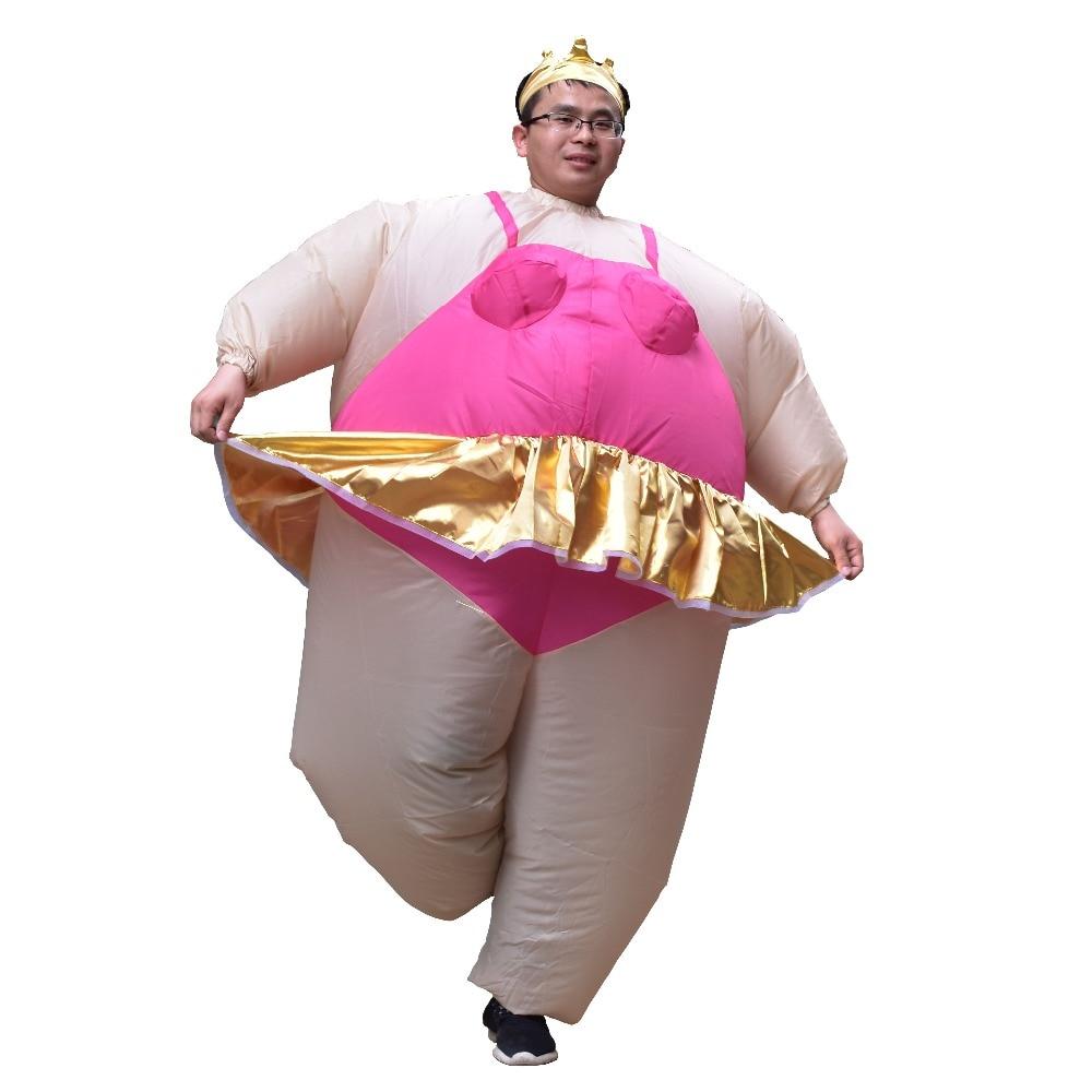 alien inflatable halloween costume party fancy dress suit costume alien clothing halloween funny for adult kids Adult Inflatable Ballet Costume Carnival Purim Halloween Party Inflatable Costume Ballerina Cosplay Fancy Dress for Women Men
