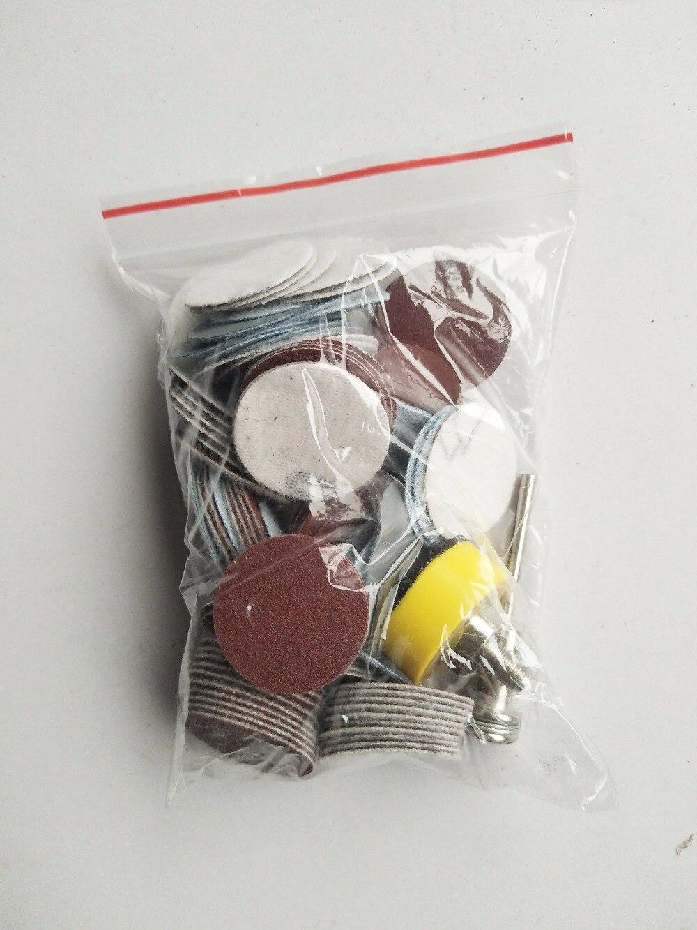 Discos de lijado de alta calidad de 100 piezas de 25 mm + placa de - Herramientas abrasivas - foto 4