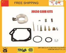 JOG50 XH90 50cc 90cc carburetor kits repair tools gasket jet gasket idle valve needle for float bowl carbs accessories parts