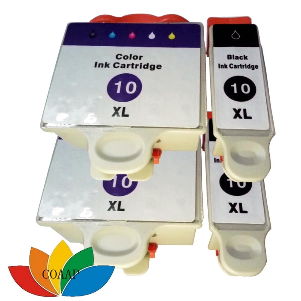 4x互換コダック10bk 10cインクカートリッジ用コダックeps 3 5 7 3250 5200 5210 5250 6150プリンタ