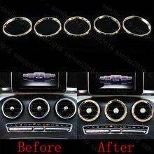 Revêtement dhabillage dextérieur en diamant or 5x   Pour Benz GLC Class X205 16-2017