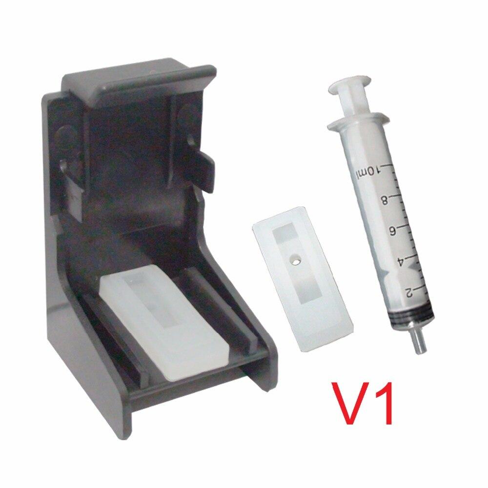 Ceye for Canon HP 702 K/22C 703 K/C 802 K/C 816 K/817C CISS CEI recarga cartuchos de tinta kit de herramienta de limpieza para absorción de Clip de V1