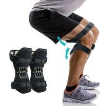 Dropship 1 Paar Ademend Krachtige Joint Support Non Slip Knie Booster Knie Brace Ondersteuning voor Sport Bergbeklimmen Squat