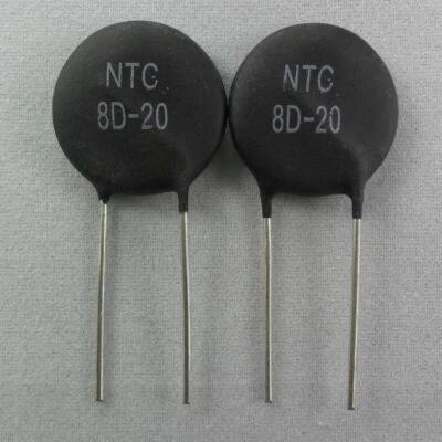 10 шт./лот NTC Thermistor резистор, резистор, Термальный резистор 8D20, новый оригинальный резистор