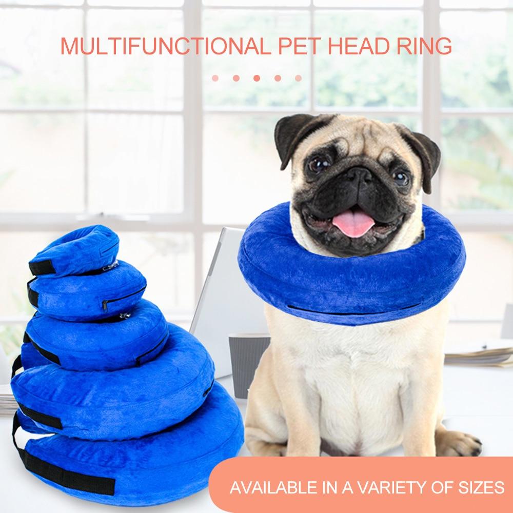 Productos multifunción inflables para mascotas, Collar de perro plushCat Elizabeth Circle, collares y rascadores antimordida, belleza HealingBrace