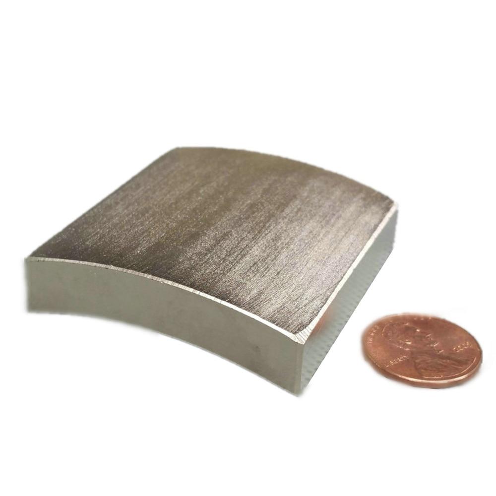 Wind Turbine NdFeB Arc Segment OR80xIR70xWidth48xLength50mm Large Moto magnet for generators Neodymium Permanent Rotor Magnet