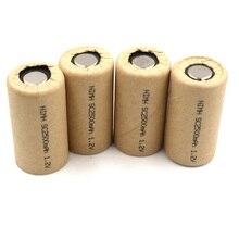 Ni-Mh SC2500mAh 4 pièces Nimh sc2.5Ah cellule dalimentation, cellule de batterie rechargeable, cellule de batterie doutil électrique, taux de décharge 10C-15C