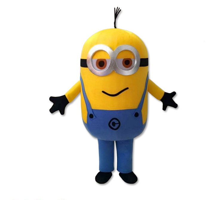 New Style Cartoon Mascot costume Free Shipping! EPE Minion Mascot Costume, Despicable Mascot Costume