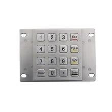 Pavé numérique avec claviers terminaux imperméables claviers ATM claviers militaires IP65 Membrane clavier étanche clavier matriciel