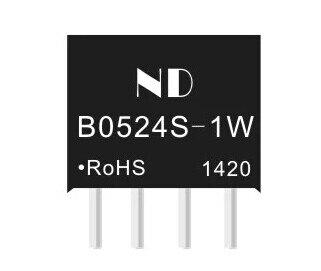 5 PÇS/LOTE DCDC módulo de potência 5 V a 24 V DC-DC impulso módulo circuito B0524S-1W